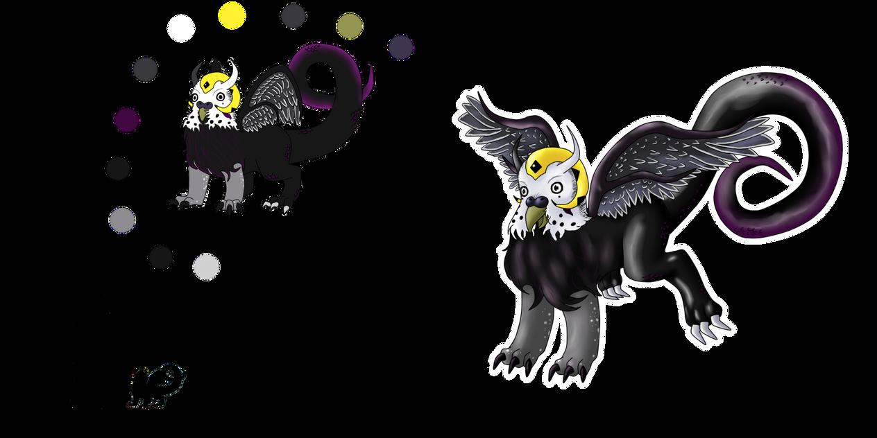 Burageon Adopt: White-Black by Beagon