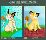 Draw this again - Meowth by Beagon
