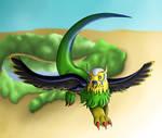 Flying by Beagon
