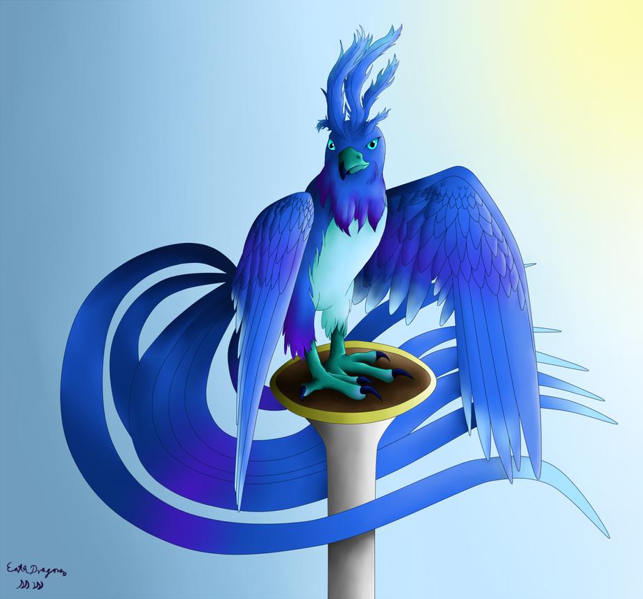 Blue Bird by Beagon