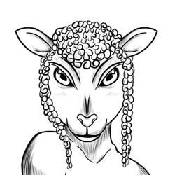 Sheepgirl by Beagon
