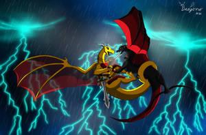 Battle in the Sky by Beagon