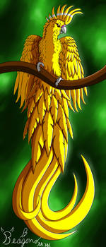 Yellow Bird by Beagon