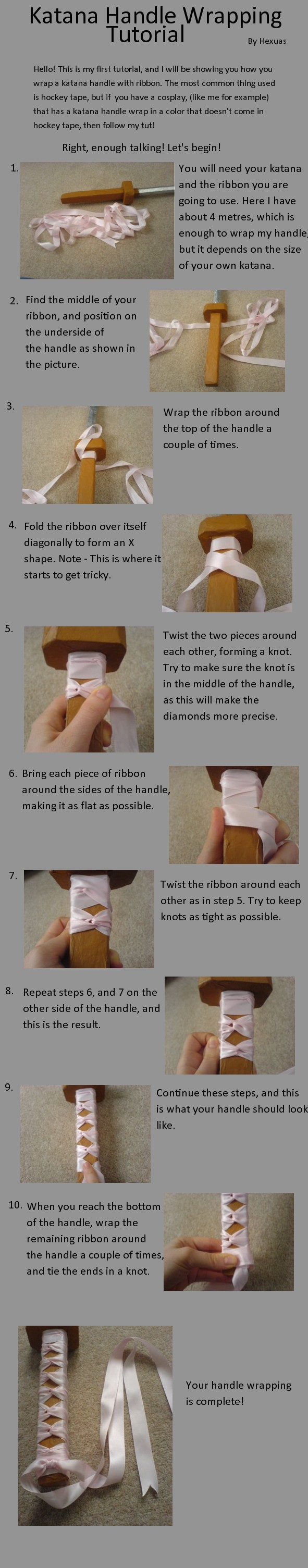 Katana Handle Wrapping Tut by Hexuas