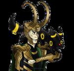 Loki and Umbreon