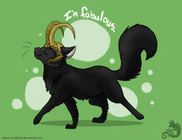 Burdened with Glorious fur by Bane-Shadows