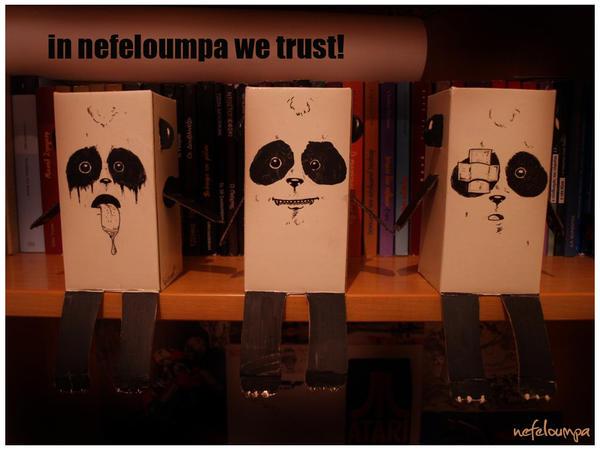panda troopers by nefeloumpa