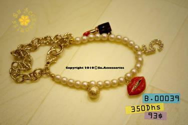 Lipstick No5 Bracelet