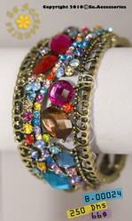 Red Jewels Bracelet