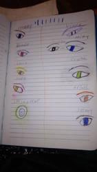 Fanf eyes by Fnaf111