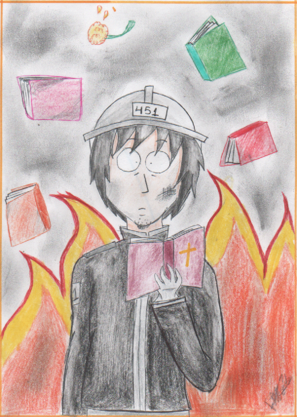 faherenheit 451 changes of montag Fahrenheit 451 study guide--english 10 honors after beatty leaves montag's tricky changes or substitutions that can make a true statement false.