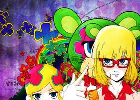 kuuchuu buranko by Roxiee-chan