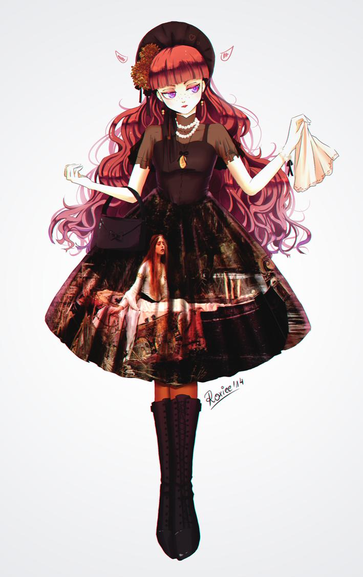 redhead devil by Roxiee-chan