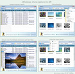 Vista explorer in XP review