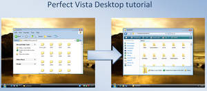 Perfect Vista Desk - tutorial