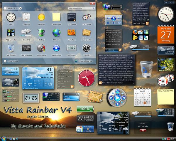 RAINBAR XP TÉLÉCHARGER