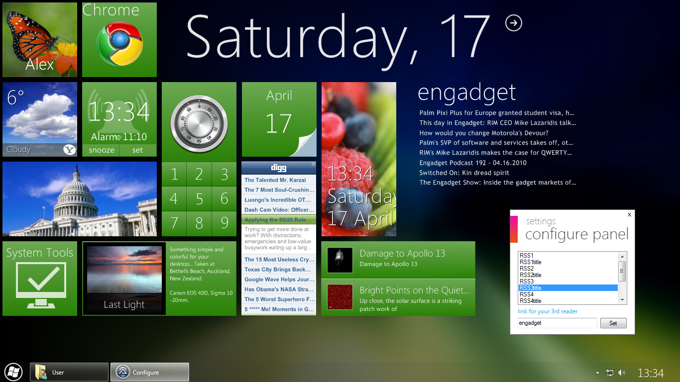 Current Omnimo 2 desktop by fediaFedia