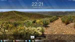 iPad clock desktop