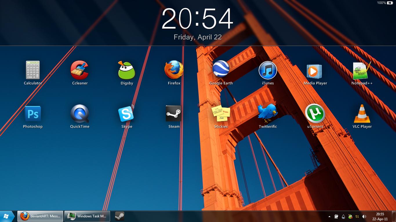iPad Clock 2 by fediaFedia
