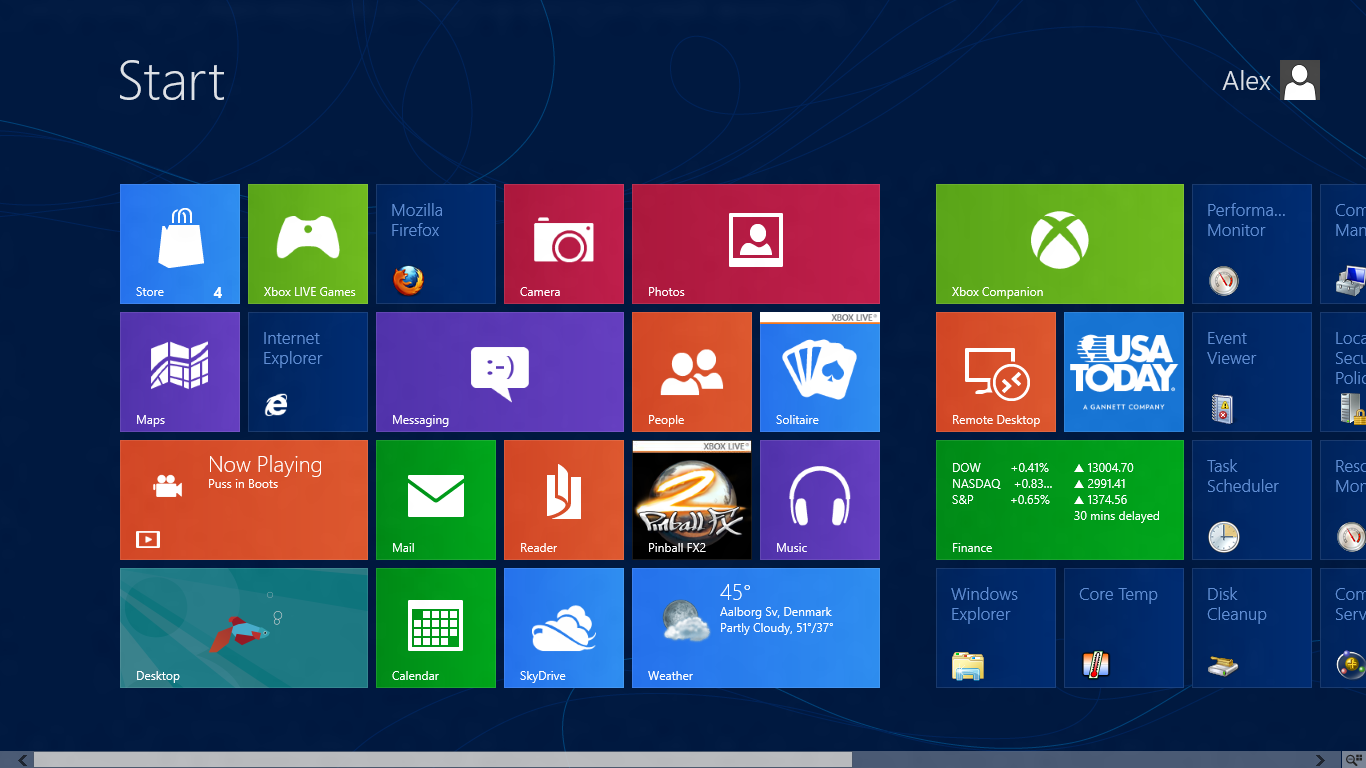 Windows 8 Consumer Preview / Review by fediaFedia