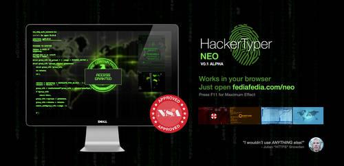 [web-app] HackerTyper NEO New Domain by fediaFedia