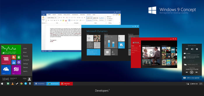 Windows 9 Concept BETA2