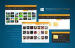 Windows 9 Explorer Concept BETA1