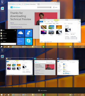 Windows 10 Technical Preview - Build 9841