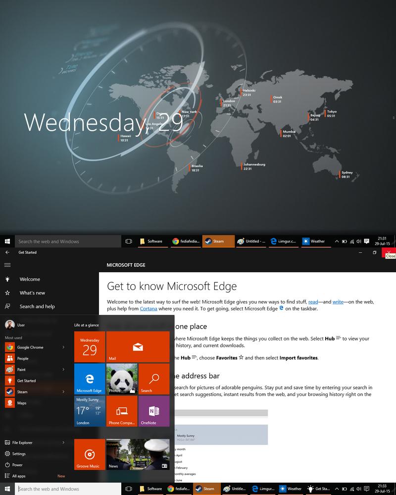 Windows 10. by fediaFedia