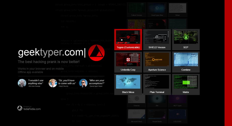 GeekTyper 2 - Official Release by fediaFedia