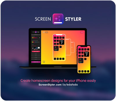 [NOW LIVE] - ScreenStyler.com for iPhone