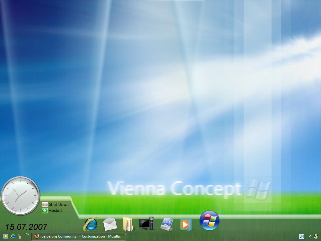 ViennaXP Concept by fediaFedia