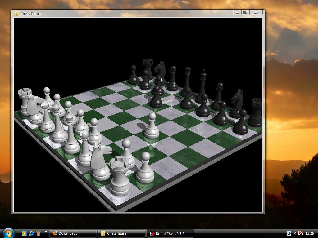 chess titans для windows xp