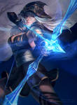 Ashe from League of Legends!