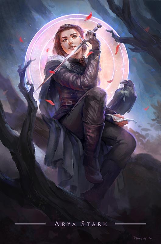 Arya Stark of Winterfell by MaR-93 on DeviantArt