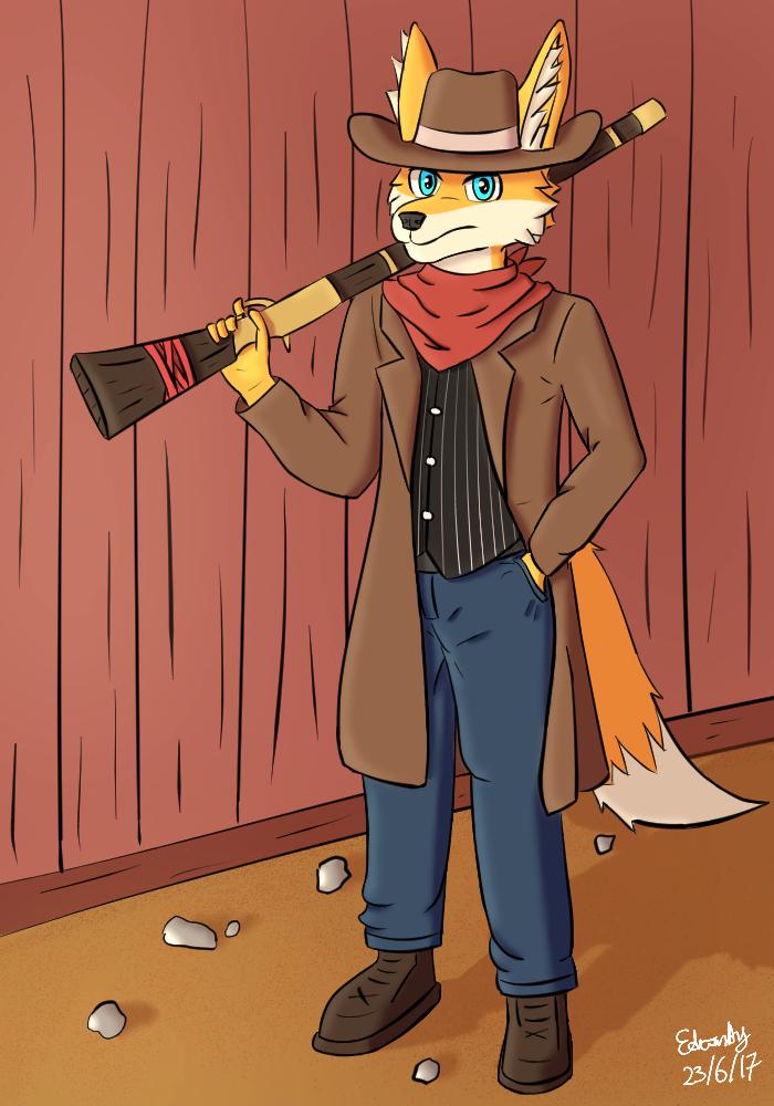 Wild West Fox by Yukireon