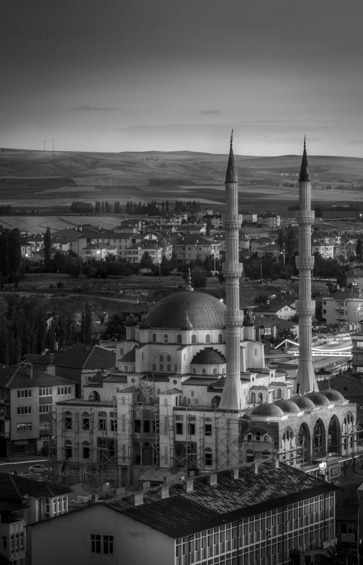 Muhsin Yazicioglu Mosque Sarkisla/Turkey by ZifirArt