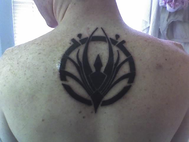 My battlestar tattoo by tychowolf on deviantart for Battlestar galactica tattoo