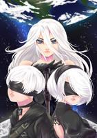 NieR:Automata by Kanimimi