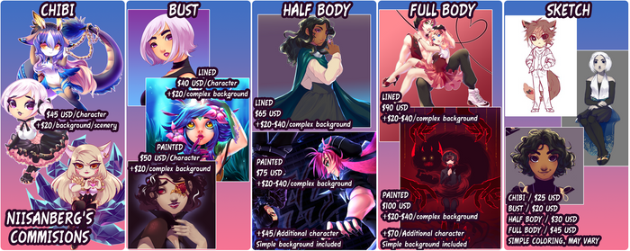 COMMISSIONS [OPEN] [2020]