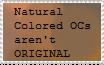 Natural coloured ocs arent original by Yaoimaster237