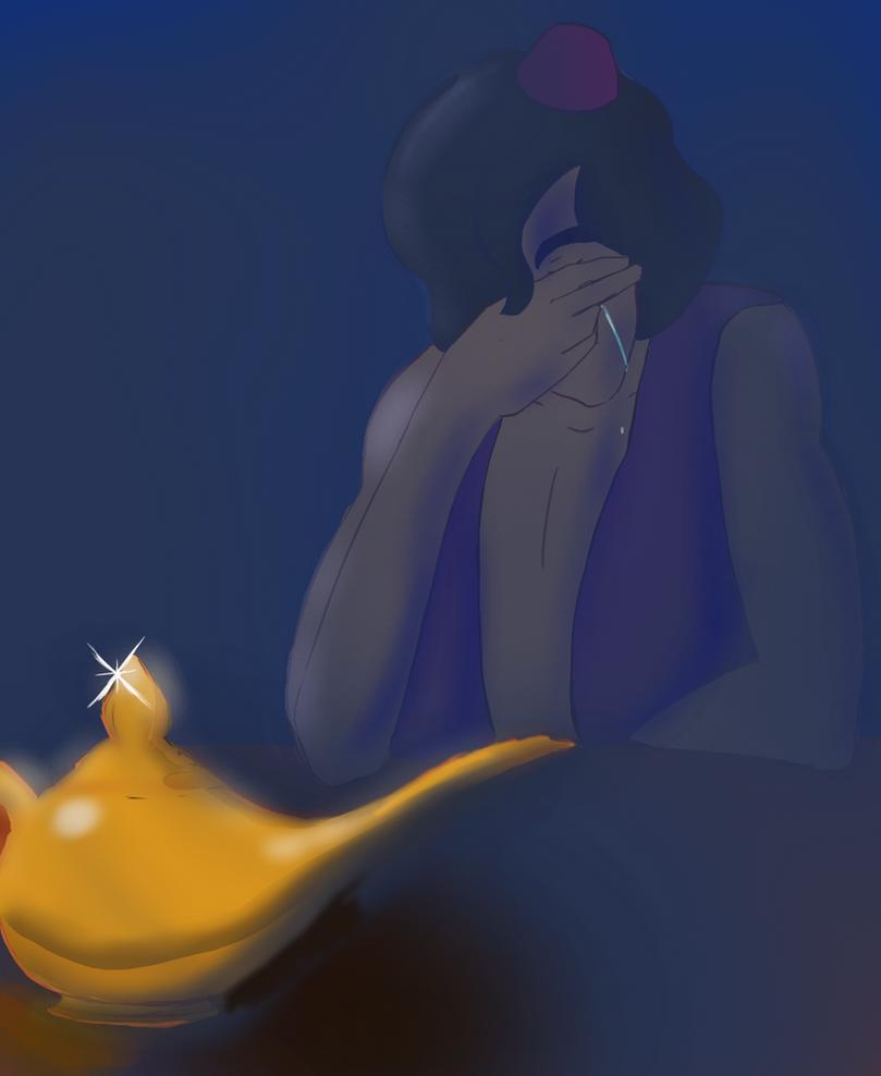 Goodbye Genie by Tiny1Badger