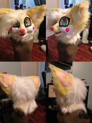 FenneCat fursuit head