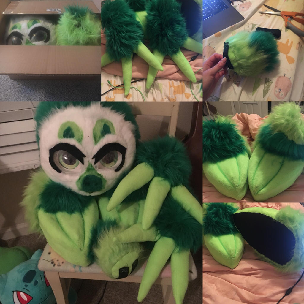 Sloth Fursuit Partial