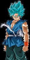 Goku End Blue by Cholo15ART