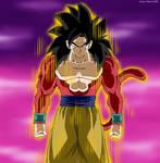 Son Goku Super Saiyan 4