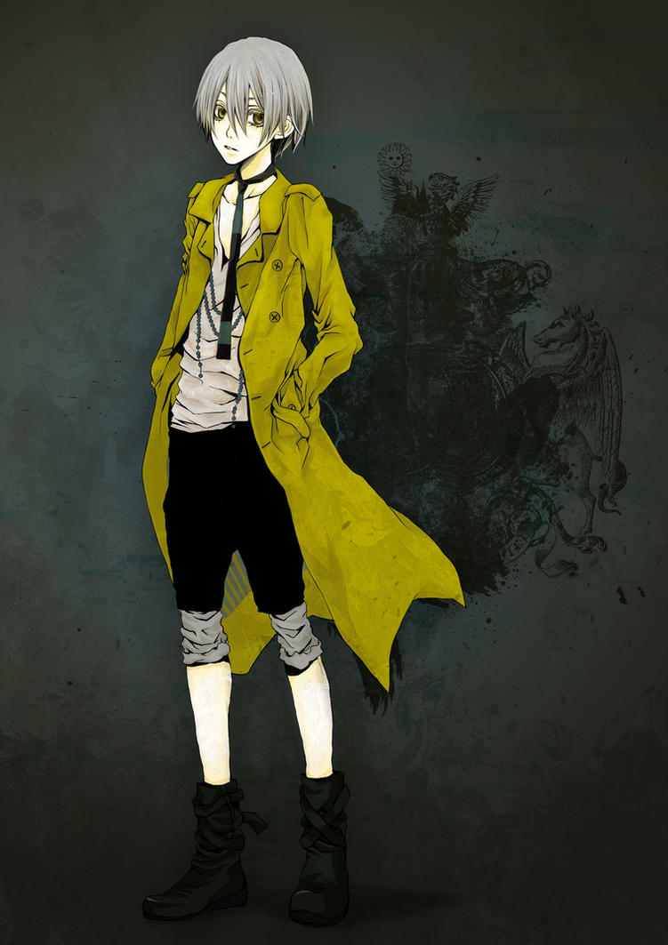 Yellow coat by melancholinista