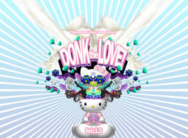 donk the love flyer by penpointred