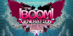 Boom Generation flyer Pisces by penpointred