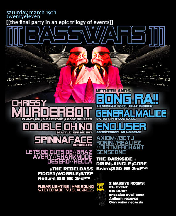 basswars flyer by penpointred
